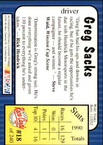 1991-Maxx-Auto-Racing-Cards-1-240-Rookies-A2705-You-Pick-10-FREE-SHIP thumbnail 37