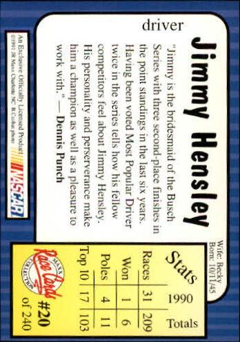 1991-Maxx-Auto-Racing-Cards-1-240-Rookies-A2705-You-Pick-10-FREE-SHIP thumbnail 41