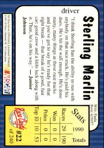 1991-Maxx-Auto-Racing-Cards-1-240-Rookies-A2705-You-Pick-10-FREE-SHIP thumbnail 45