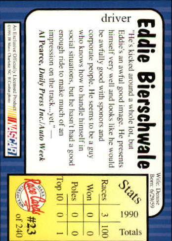 1991-Maxx-Auto-Racing-Cards-1-240-Rookies-A2705-You-Pick-10-FREE-SHIP thumbnail 47