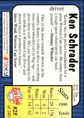 1991-Maxx-Auto-Racing-Cards-1-240-Rookies-A2705-You-Pick-10-FREE-SHIP thumbnail 51