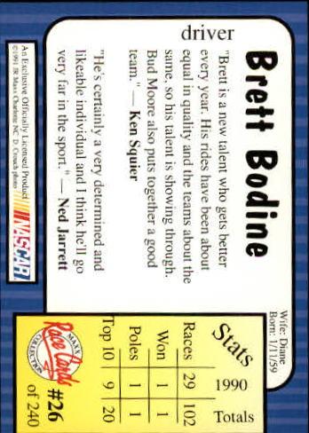 1991-Maxx-Auto-Racing-Cards-1-240-Rookies-A2705-You-Pick-10-FREE-SHIP thumbnail 53