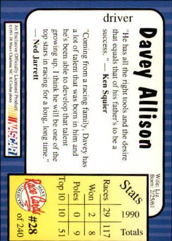 1991-Maxx-Auto-Racing-Cards-1-240-Rookies-A2705-You-Pick-10-FREE-SHIP thumbnail 57