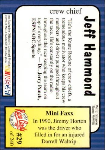 1991-Maxx-Auto-Racing-Cards-1-240-Rookies-A2705-You-Pick-10-FREE-SHIP thumbnail 59