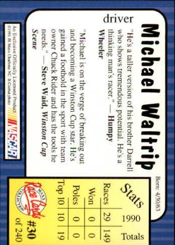 1991-Maxx-Auto-Racing-Cards-1-240-Rookies-A2705-You-Pick-10-FREE-SHIP thumbnail 61