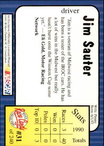 1991-Maxx-Auto-Racing-Cards-1-240-Rookies-A2705-You-Pick-10-FREE-SHIP thumbnail 63