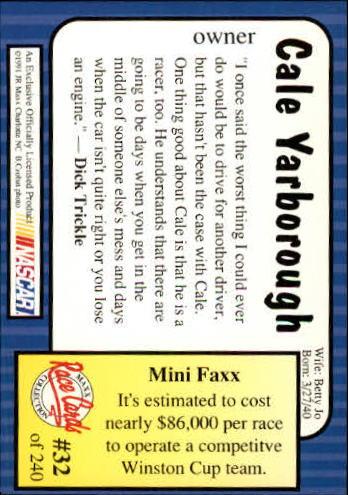 1991-Maxx-Auto-Racing-Cards-1-240-Rookies-A2705-You-Pick-10-FREE-SHIP thumbnail 65