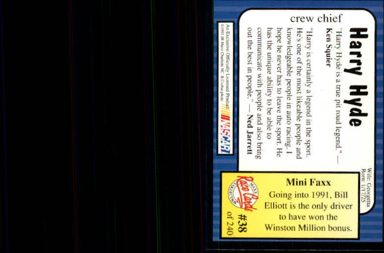 1991-Maxx-Auto-Racing-Cards-1-240-Rookies-A2705-You-Pick-10-FREE-SHIP thumbnail 77