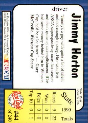 1991-Maxx-Auto-Racing-Cards-1-240-Rookies-A2705-You-Pick-10-FREE-SHIP thumbnail 89