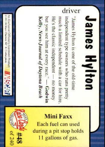 1991-Maxx-Auto-Racing-Cards-1-240-Rookies-A2705-You-Pick-10-FREE-SHIP thumbnail 97