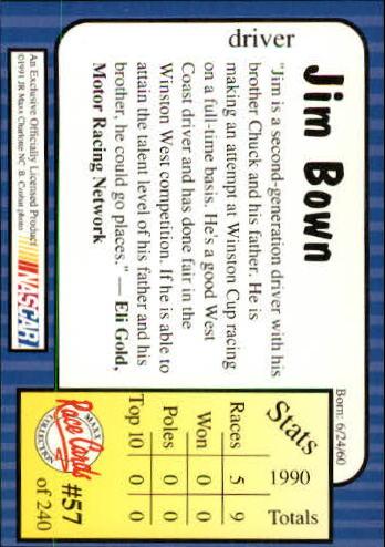 1991-Maxx-Auto-Racing-Cards-1-240-Rookies-A2705-You-Pick-10-FREE-SHIP thumbnail 115