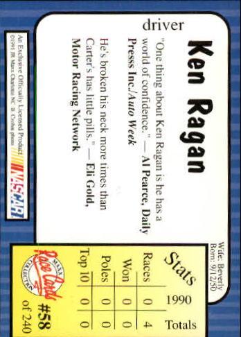 1991-Maxx-Auto-Racing-Cards-1-240-Rookies-A2705-You-Pick-10-FREE-SHIP thumbnail 117