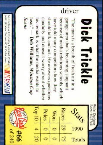 1991-Maxx-Auto-Racing-Cards-1-240-Rookies-A2705-You-Pick-10-FREE-SHIP thumbnail 133