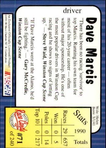 1991-Maxx-Auto-Racing-Cards-1-240-Rookies-A2705-You-Pick-10-FREE-SHIP thumbnail 143