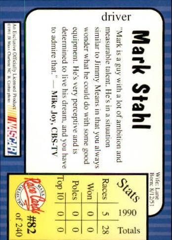 1991-Maxx-Auto-Racing-Cards-1-240-Rookies-A2705-You-Pick-10-FREE-SHIP thumbnail 165