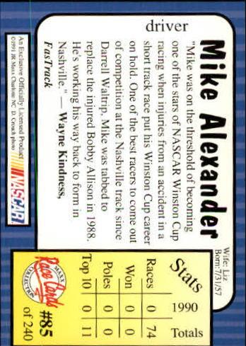 1991-Maxx-Auto-Racing-Cards-1-240-Rookies-A2705-You-Pick-10-FREE-SHIP thumbnail 171