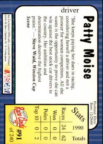 1991-Maxx-Auto-Racing-Cards-1-240-Rookies-A2705-You-Pick-10-FREE-SHIP thumbnail 183