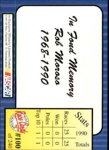 1991-Maxx-Auto-Racing-Cards-1-240-Rookies-A2705-You-Pick-10-FREE-SHIP thumbnail 201