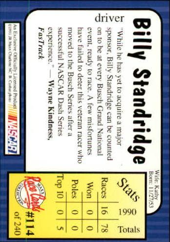 1991-Maxx-Auto-Racing-Cards-1-240-Rookies-A2705-You-Pick-10-FREE-SHIP thumbnail 229