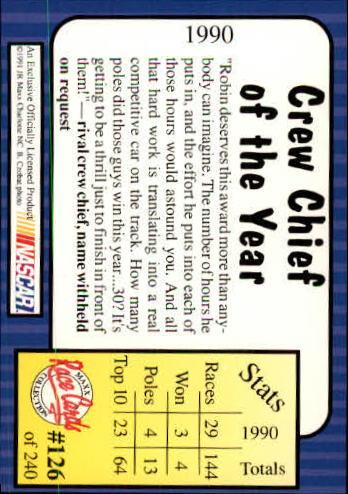 1991-Maxx-Auto-Racing-Cards-1-240-Rookies-A2705-You-Pick-10-FREE-SHIP thumbnail 252