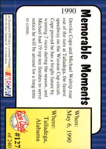 1991-Maxx-Auto-Racing-Cards-1-240-Rookies-A2705-You-Pick-10-FREE-SHIP thumbnail 254