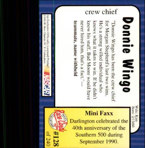 1991-Maxx-Auto-Racing-Cards-1-240-Rookies-A2705-You-Pick-10-FREE-SHIP thumbnail 256
