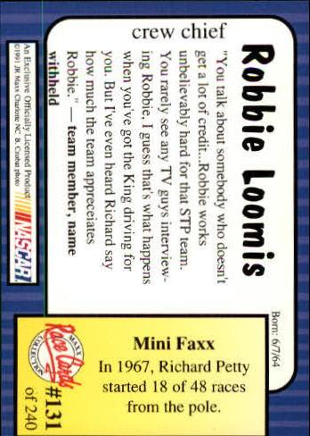 1991-Maxx-Auto-Racing-Cards-1-240-Rookies-A2705-You-Pick-10-FREE-SHIP thumbnail 262