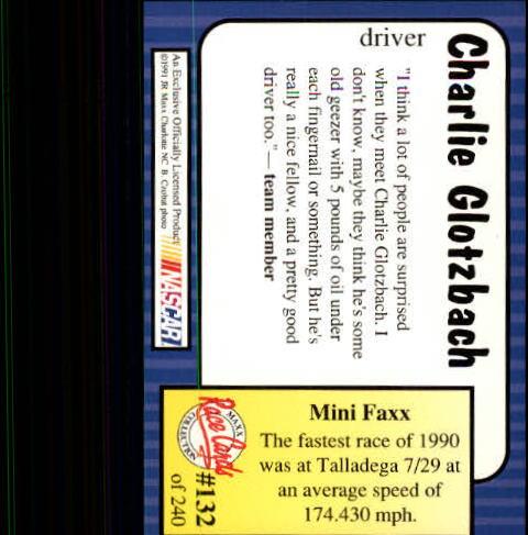 1991-Maxx-Auto-Racing-Cards-1-240-Rookies-A2705-You-Pick-10-FREE-SHIP thumbnail 264