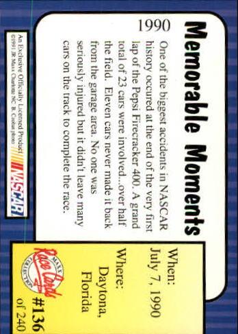 1991-Maxx-Auto-Racing-Cards-1-240-Rookies-A2705-You-Pick-10-FREE-SHIP thumbnail 272
