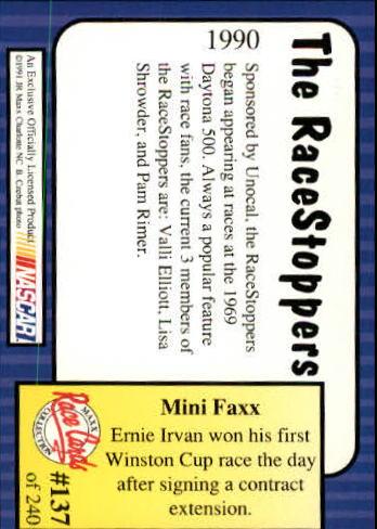 1991-Maxx-Auto-Racing-Cards-1-240-Rookies-A2705-You-Pick-10-FREE-SHIP thumbnail 274
