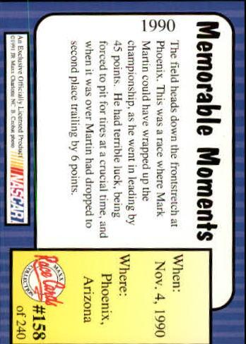 1991-Maxx-Auto-Racing-Cards-1-240-Rookies-A2705-You-Pick-10-FREE-SHIP thumbnail 316