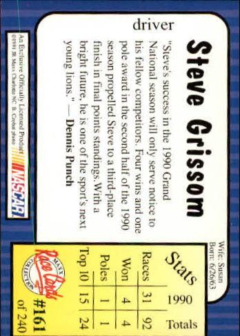 1991-Maxx-Auto-Racing-Cards-1-240-Rookies-A2705-You-Pick-10-FREE-SHIP thumbnail 322