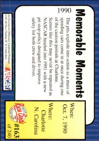 1991-Maxx-Auto-Racing-Cards-1-240-Rookies-A2705-You-Pick-10-FREE-SHIP thumbnail 326