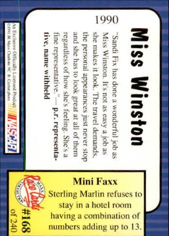 1991-Maxx-Auto-Racing-Cards-1-240-Rookies-A2705-You-Pick-10-FREE-SHIP thumbnail 336