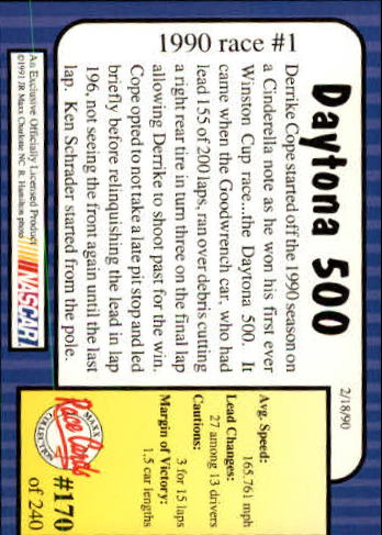 1991-Maxx-Auto-Racing-Cards-1-240-Rookies-A2705-You-Pick-10-FREE-SHIP thumbnail 340
