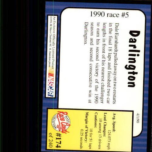 1991-Maxx-Auto-Racing-Cards-1-240-Rookies-A2705-You-Pick-10-FREE-SHIP thumbnail 348