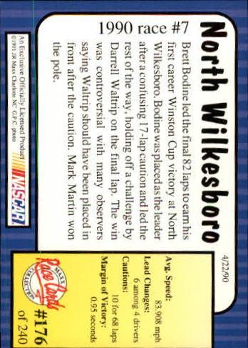 1991-Maxx-Auto-Racing-Cards-1-240-Rookies-A2705-You-Pick-10-FREE-SHIP thumbnail 352