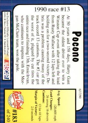 1991-Maxx-Auto-Racing-Cards-1-240-Rookies-A2705-You-Pick-10-FREE-SHIP thumbnail 366