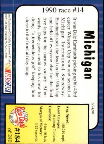 1991-Maxx-Auto-Racing-Cards-1-240-Rookies-A2705-You-Pick-10-FREE-SHIP thumbnail 368