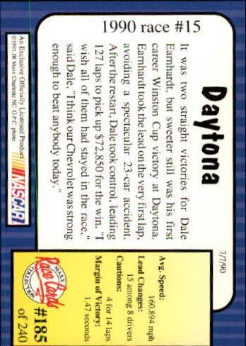 1991-Maxx-Auto-Racing-Cards-1-240-Rookies-A2705-You-Pick-10-FREE-SHIP thumbnail 370
