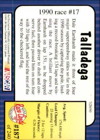 1991-Maxx-Auto-Racing-Cards-1-240-Rookies-A2705-You-Pick-10-FREE-SHIP thumbnail 374