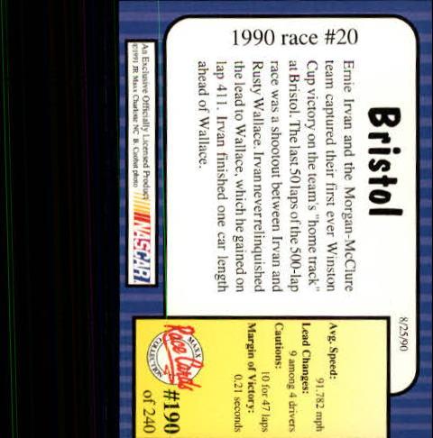 1991-Maxx-Auto-Racing-Cards-1-240-Rookies-A2705-You-Pick-10-FREE-SHIP thumbnail 380