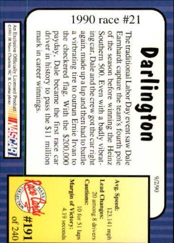 1991-Maxx-Auto-Racing-Cards-1-240-Rookies-A2705-You-Pick-10-FREE-SHIP thumbnail 382