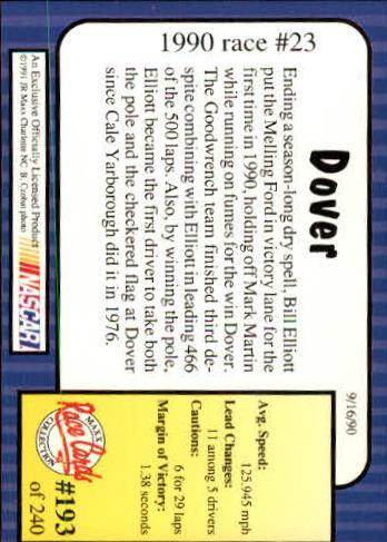 1991-Maxx-Auto-Racing-Cards-1-240-Rookies-A2705-You-Pick-10-FREE-SHIP thumbnail 386