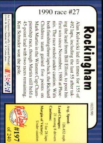 1991-Maxx-Auto-Racing-Cards-1-240-Rookies-A2705-You-Pick-10-FREE-SHIP thumbnail 394