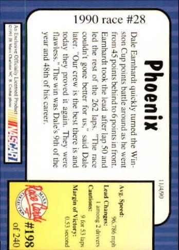 1991-Maxx-Auto-Racing-Cards-1-240-Rookies-A2705-You-Pick-10-FREE-SHIP thumbnail 396