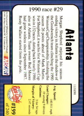 1991-Maxx-Auto-Racing-Cards-1-240-Rookies-A2705-You-Pick-10-FREE-SHIP thumbnail 398