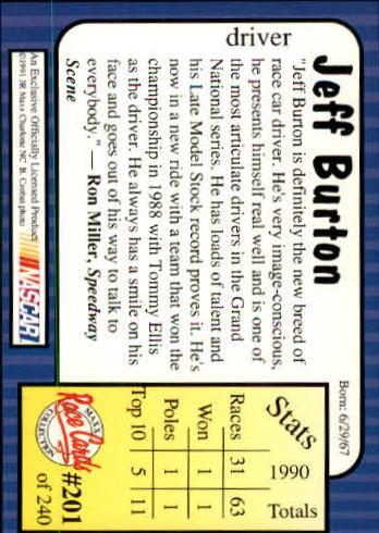 1991-Maxx-Auto-Racing-Cards-1-240-Rookies-A2705-You-Pick-10-FREE-SHIP thumbnail 402