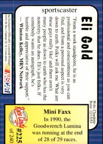 1991-Maxx-Auto-Racing-Cards-1-240-Rookies-A2705-You-Pick-10-FREE-SHIP thumbnail 450