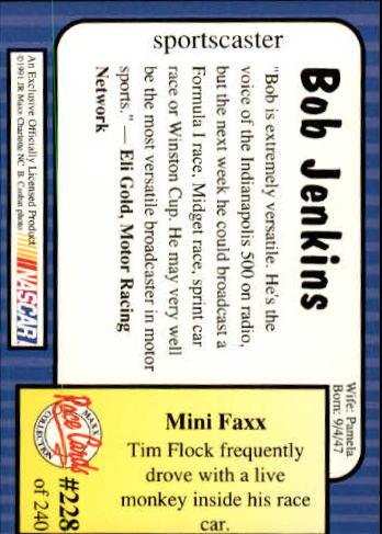 1991-Maxx-Auto-Racing-Cards-1-240-Rookies-A2705-You-Pick-10-FREE-SHIP thumbnail 456